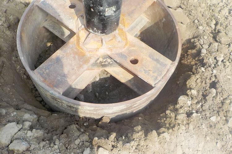 柱状改良杭撤去の必要性