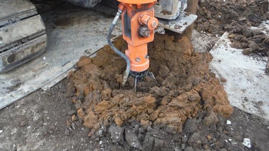 地震に強く、掘削残土ゼロの新しい堀削方式